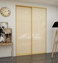 Дверь-купе со стеклом (Beige)