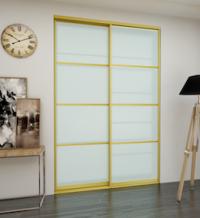 Дверь-купе со стеклом (матовое)