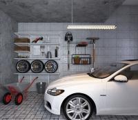 Полки в гараж.